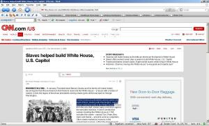 Slaves Helped Build the White House