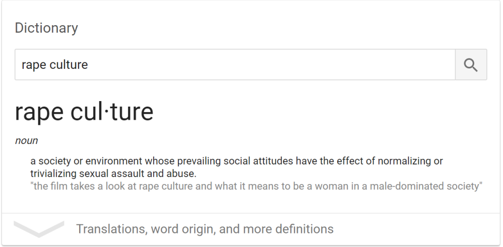rape_culture_google_definition